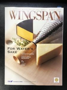 そこ丸こぼしが、3月号のWING SPANに掲載されました!